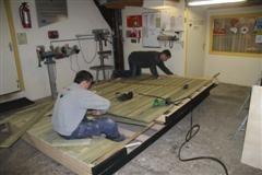 Nieuwbouw schuurtje door De HJL Groep uit Wapserveen